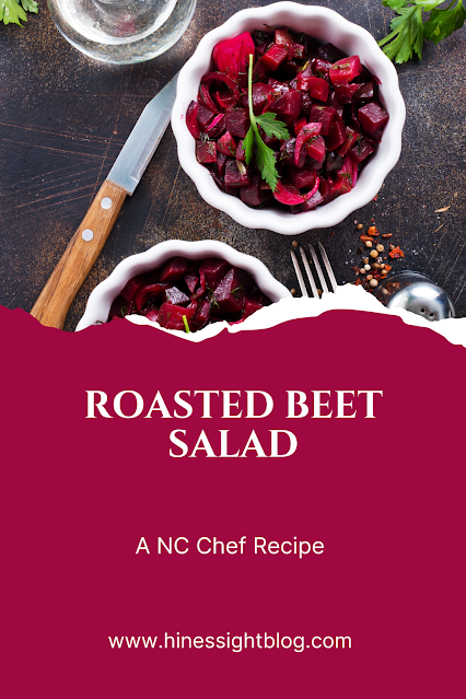 This roasted beet salad will please even the non-beet fan at your kitchen table.