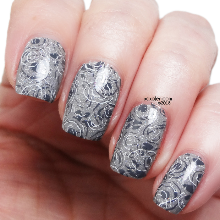 xoxoJen's swatch of Leesha's Lacquer: Grey, Greyer, Greyest