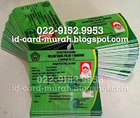 buat kartu pelajar nisn siswa nasional indonesia idcard murah bandung sekolah