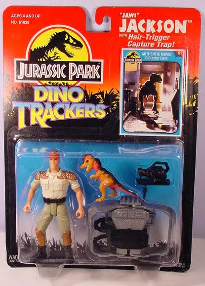 """1993 Jurassic Park /""""Harpoon/"""" Harrison 4/"""" Action Figure New on Card"""