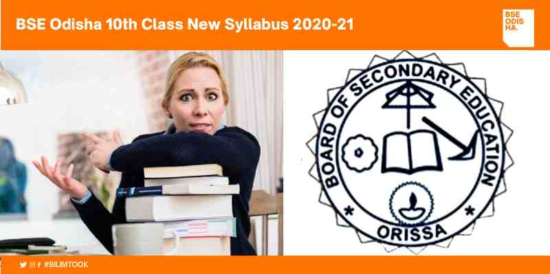 BSE Odisha 10th Class New Syllabus 2020-21 PDF Download