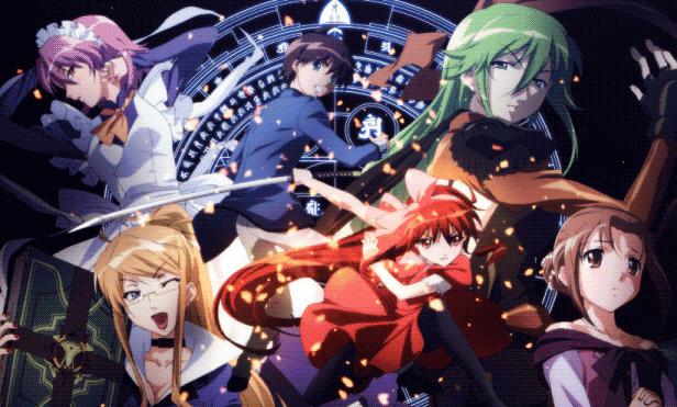 Shakugan no Shana - Daftar Anime Fantasy School Terbaik