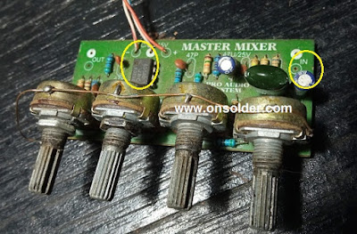 Penyebab amplifier suara kecil