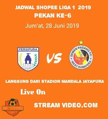 Persipura Jayapura vs Semen Padang
