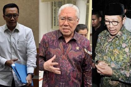 Imam, Enggar, Lukman, Menteri Jokowi Adu Cepat Masuk Bui
