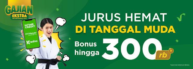 #Tokopedia - #Promo Jurus Hemat Tanggal Muda & Bonus Hingga 300K (s.d 27 Sept 2019)