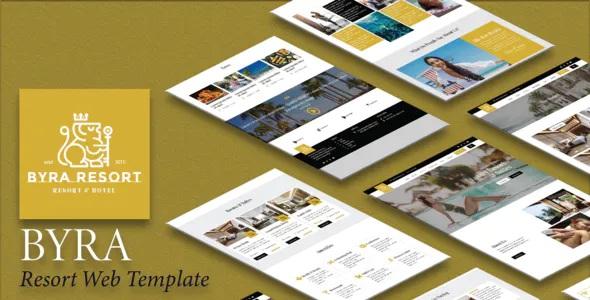 Best Hotel & Resort Template Kit