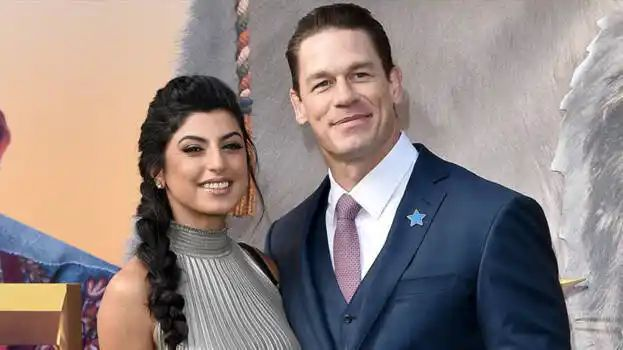 John Cena and his girlfriend Shay Shariatzadeh