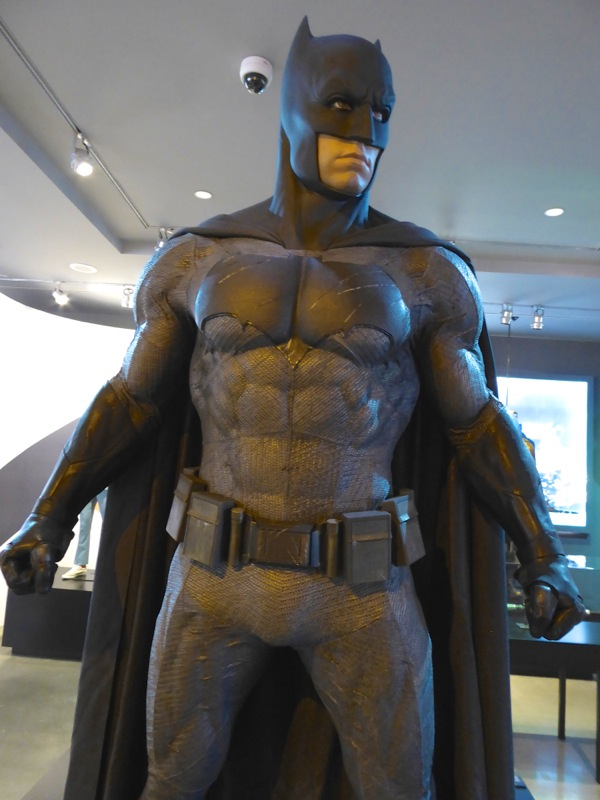 Batman v Superman grey Batsuit