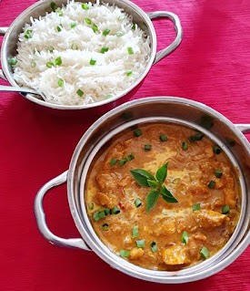 You can serve your butter chicken with salads, vegetables,naan or rice. I served mine with rice. Everyone without a doubt cherished it.