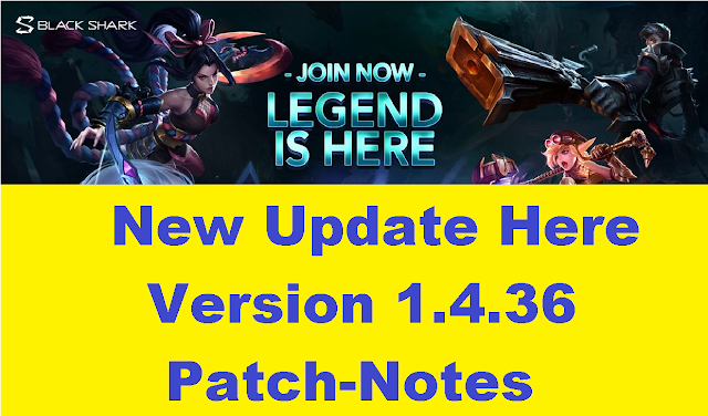 Mobile Legends 1.4.36 Patch, season 15