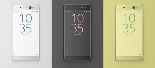 новинка анонс Sony Xperia  XA Ultra