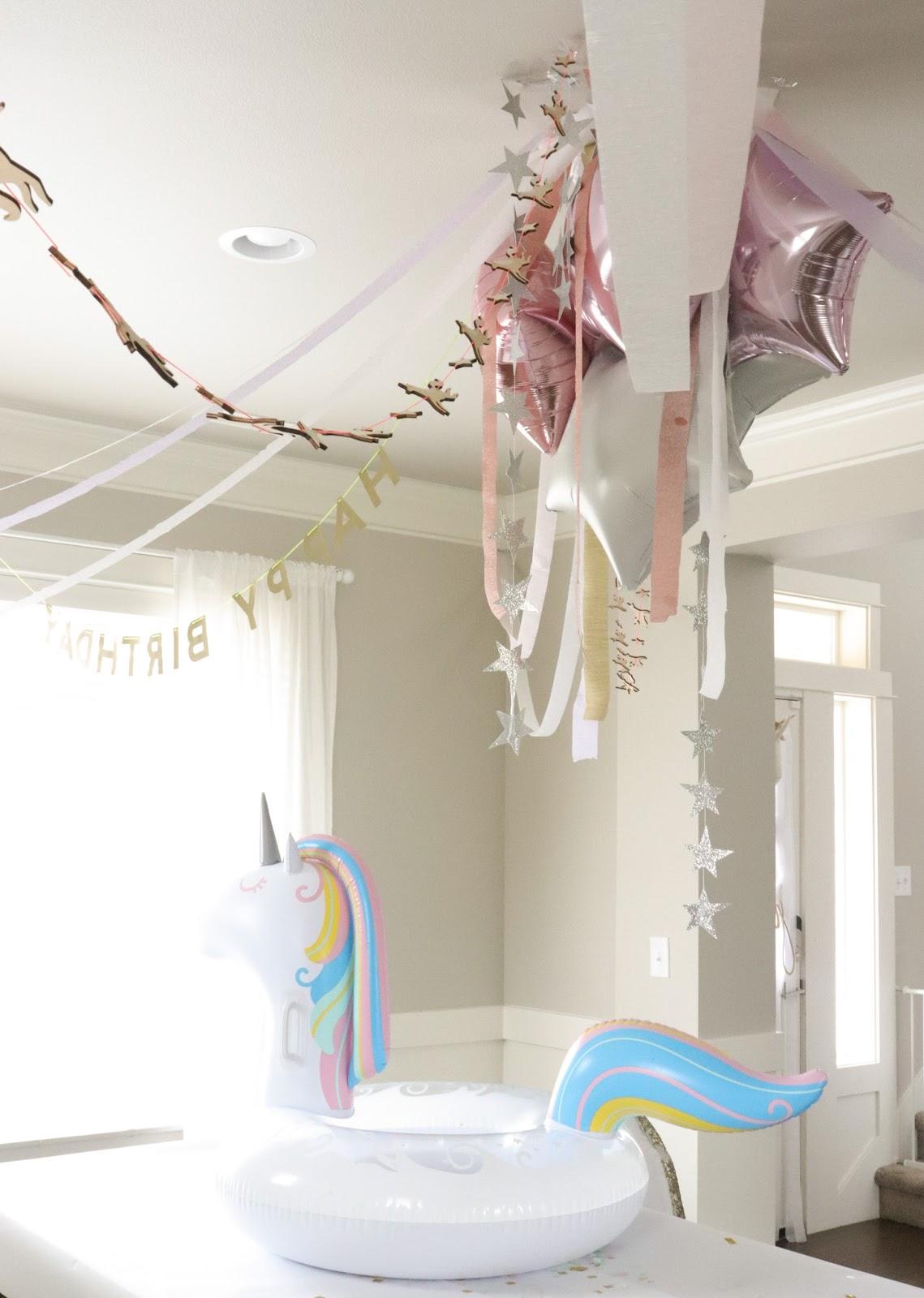 4th unicorn birthday