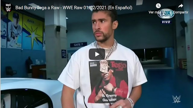 VIDEO: Bad Bunny volvió a la WWE