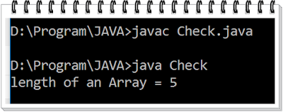 Output of the above program