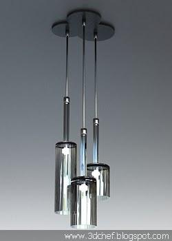 free 3d model pendant lamp