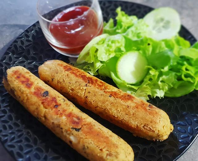 saucisse veggie sans gluten