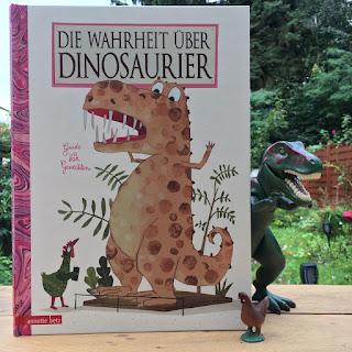 """""""Die Wahrheit über Dinosaurier"""" von Guido van Genechten, Ueberreuter Verlag, Bilderbuch, Rezension"""