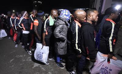 493 african migrants deported libya