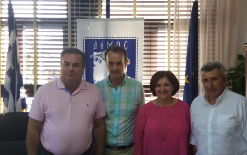 Συνάντηση του Περιφερειακού Διευθυντή Εκπαίδευσης Κεντρικής Μακεδονίας με το Δήμαρχο Προποντίδας