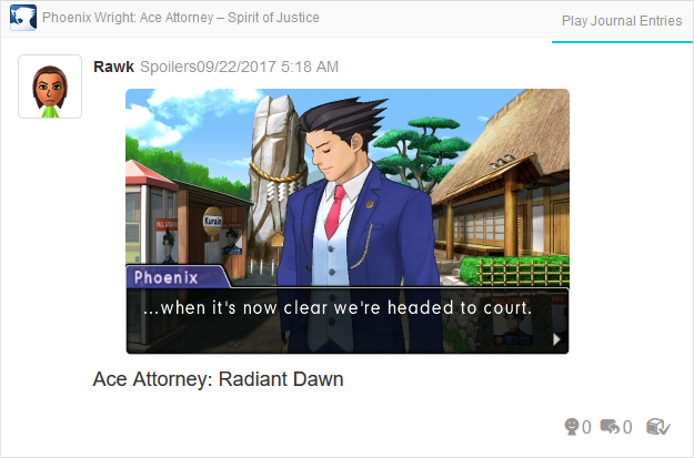 Phoenix Wright Ace Attorney Spirit of Justice versus Apollo headed to court