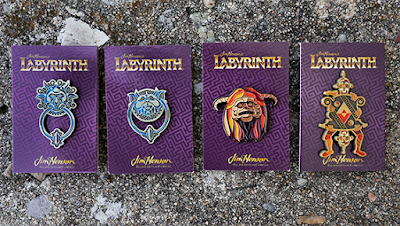 Labyrinth Enamel Pins by DKNG Studio x Mondo
