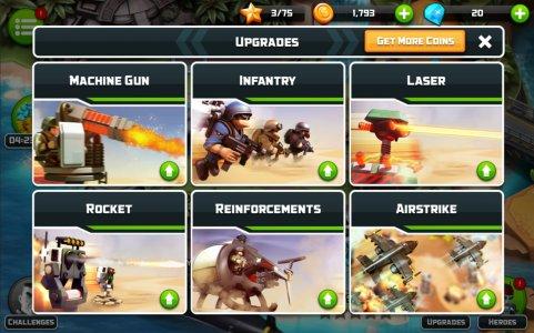 Screenshot Alien Creeps TD