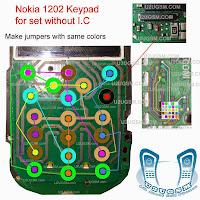 Nokia 1202 Keypad problem