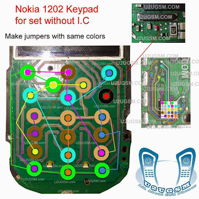 Nokia 1202 Keypad problem