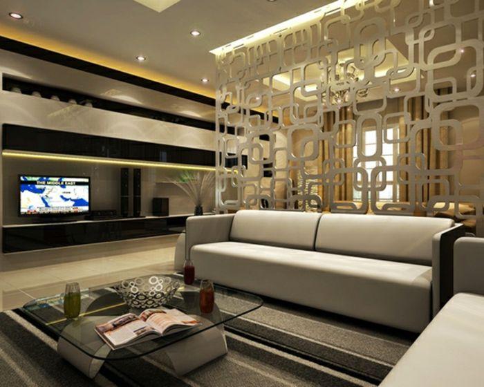 Ideas para separar la sala del comedor colores en casa for Separacion de muebles cocina comedor