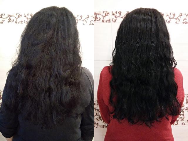 Bania Agafii i kompres regenerujący na włosy, efekty