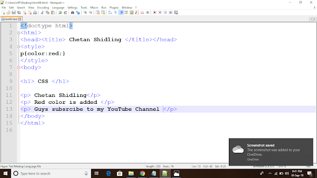 HTML Coding   Basics Of HTML   Learn In One Hour