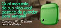 Concurso Cultural Globo.com HD Externo Seagate Wireless
