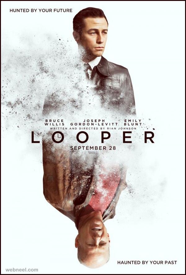 looper-creative-movie-poster-design
