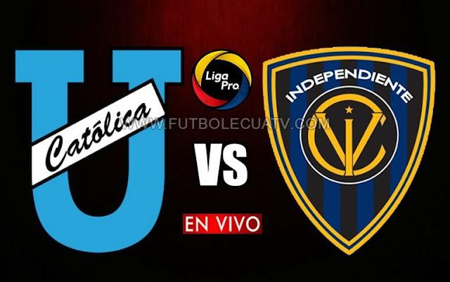 U. Católica se mide ante Independiente del Valle en vivo ⚽ desde las 17h30 hora de nuestro territorio por la fecha veinticuatro en el campeonato nacional a efectuarse en el campo Olímpico Atahualpa con transmisión del canal autorizado GolTV.