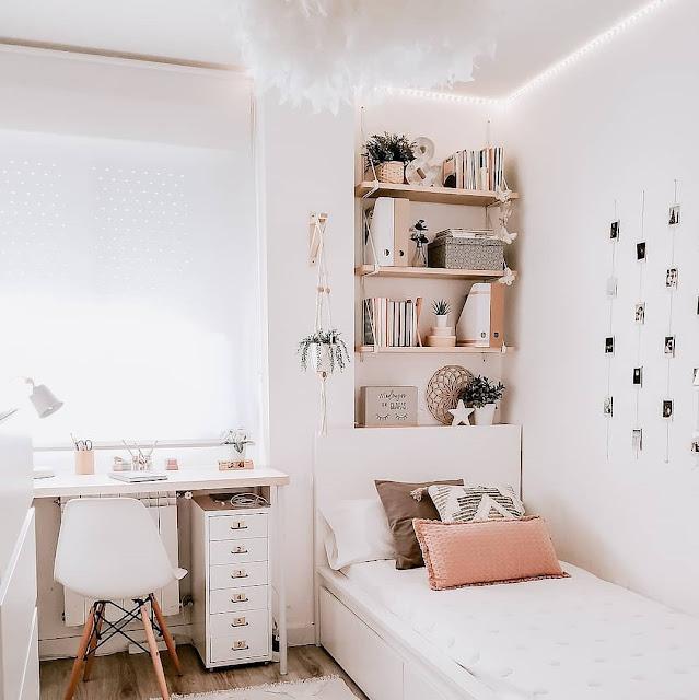 Dekorasi Kamar Tidur Minimalis yang Terkesan Hangat