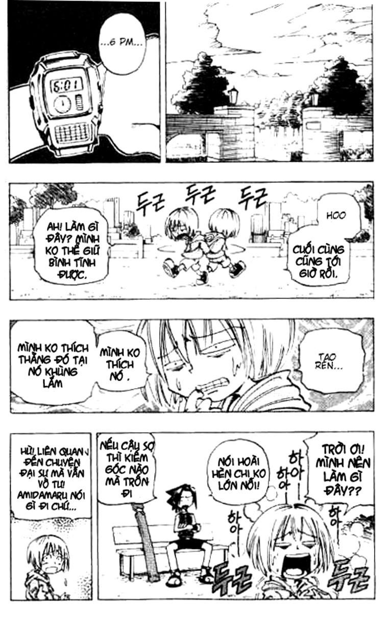 Shaman King [Vua pháp thuật] chap 55 trang 12