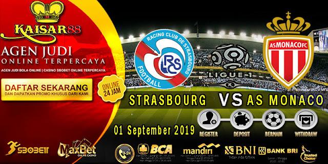Prediksi Bola Terpercaya Liga Prancis 1 Strasbourg vs Monaco 01 September 2019