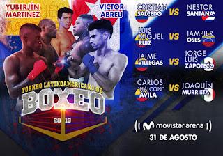 Torneo Latinoamericano de Boxeo | Movistar Arena Bogotá