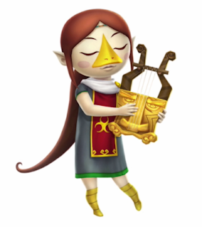 Medli Hyrule Warriors Legends artwork 3DS The Legend of Zelda Wind Waker