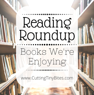 Reading Roundup- Books that we're enjoying in January. Favorite reads from the Cutting Tiny Bites fam.