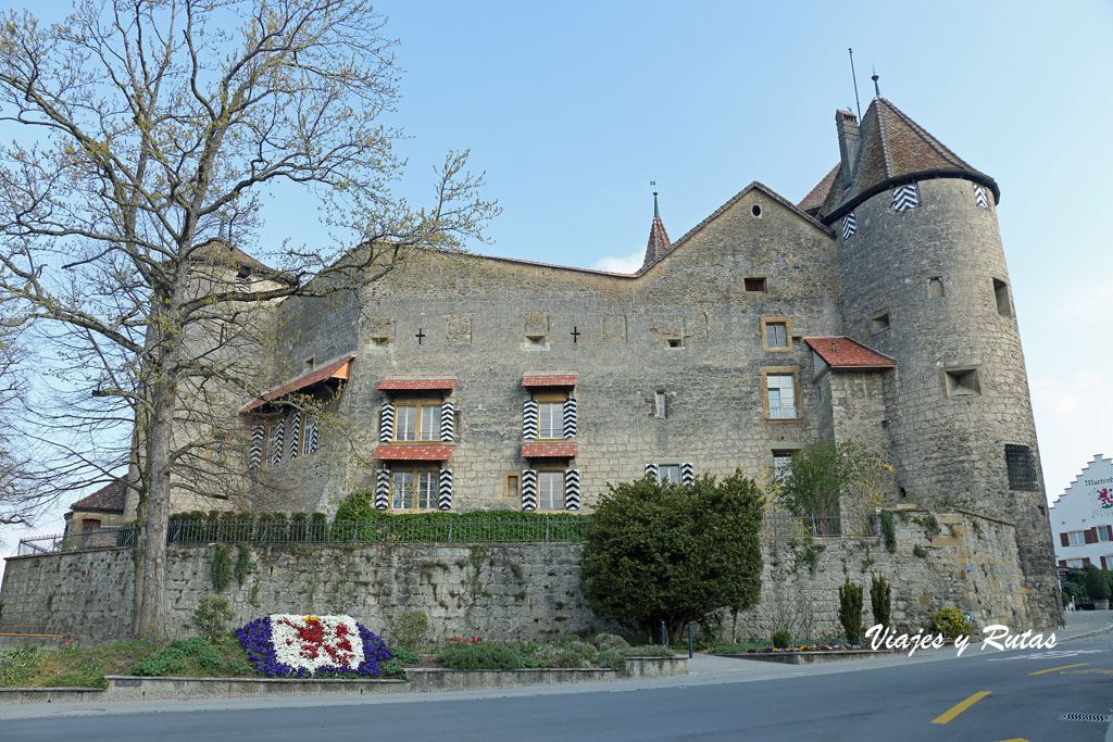 Castillo de Murten, Suiza