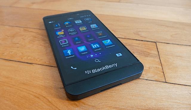 Cara Mudah Screenshot di BlackBerry Z10 Tanpa Aplikasi