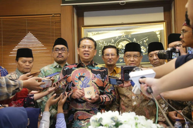 Terima Pimpinan MPR, PBNU : Munas Kyai Inginkan Presiden Dipilih MPR