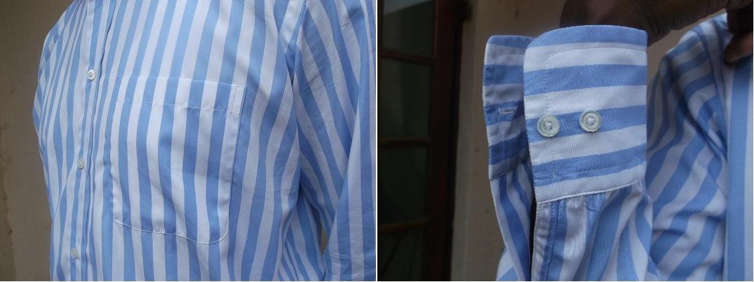 992e113f1a7c More features of the old school are the chest pocket, this means that the Louis  ii Shirts company still believe in men's clothes being practical.