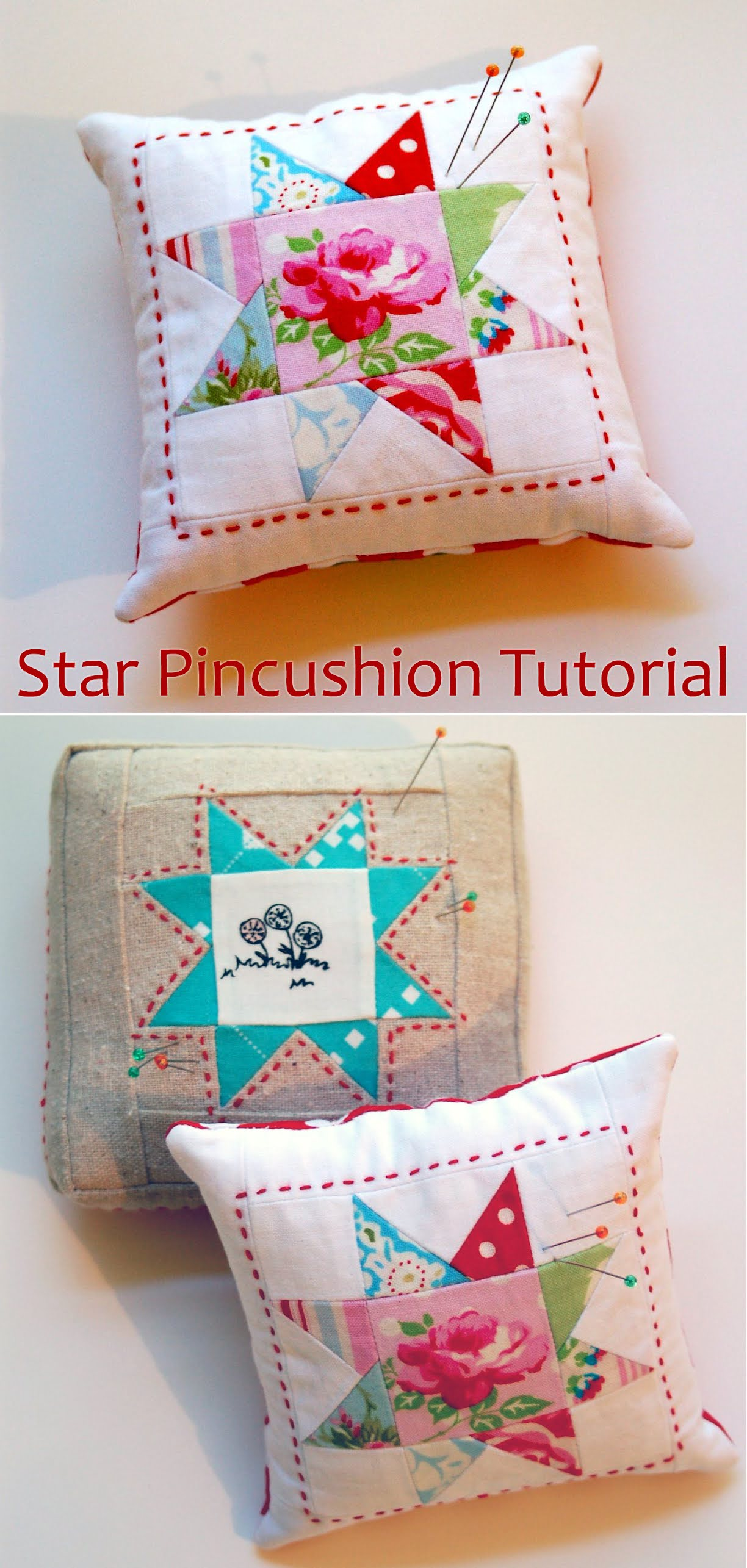 Star Pincushion Tutorial