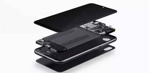 lapisan depan belakang Redmi Note 7