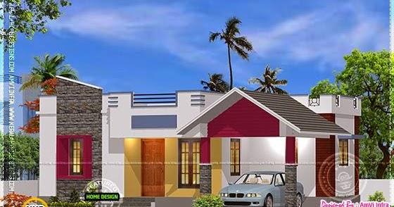 900 Sqfeet Free Single Storied House Kerala Home Design