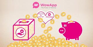 WowApp, l'application de messagerie qui vous fait gagner de l'argent!