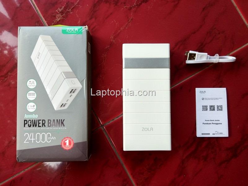 Paket Pembelian Zola Jumbo 24000mAh